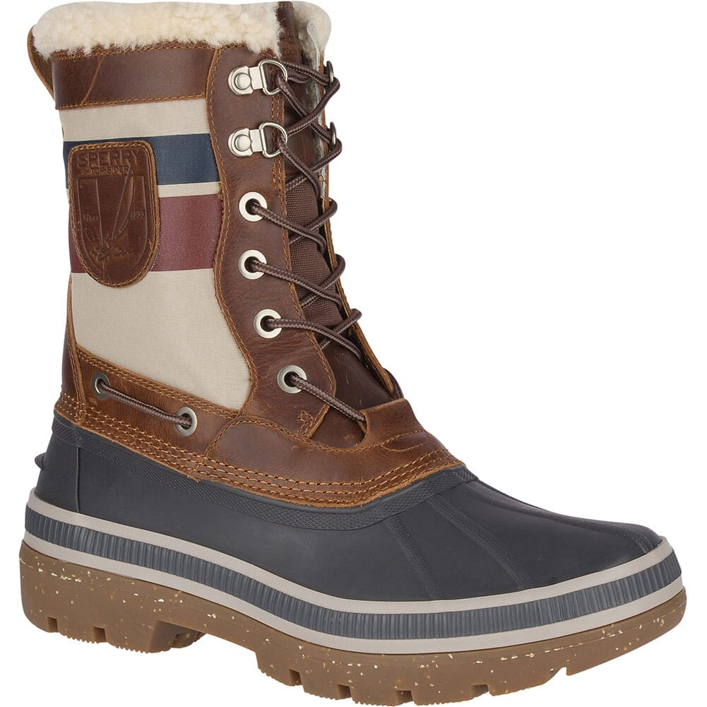 Image for Sperry Men's Ice Bay Tall Pac Boots - Brown/Natural from bootbay