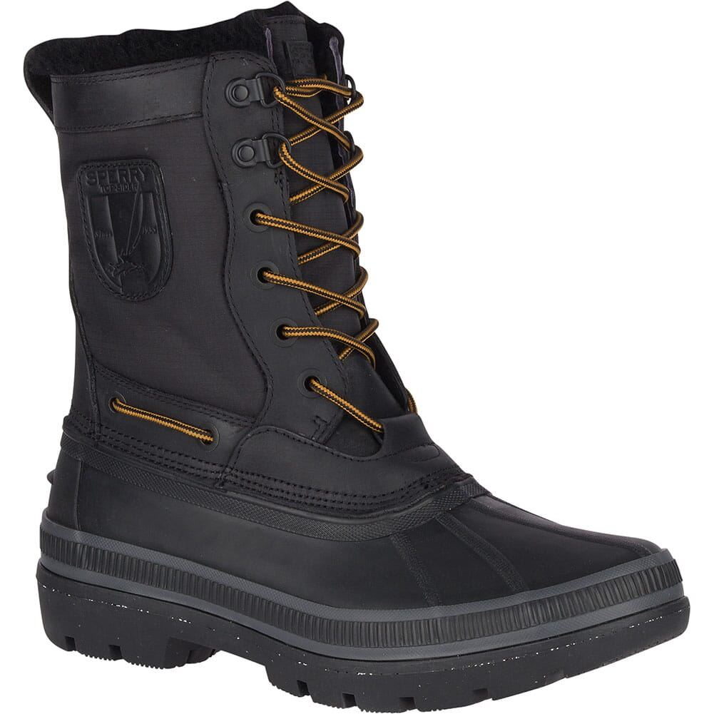 Image for Sperry Men's Ice Bay Tall Pac Boots - Black from bootbay