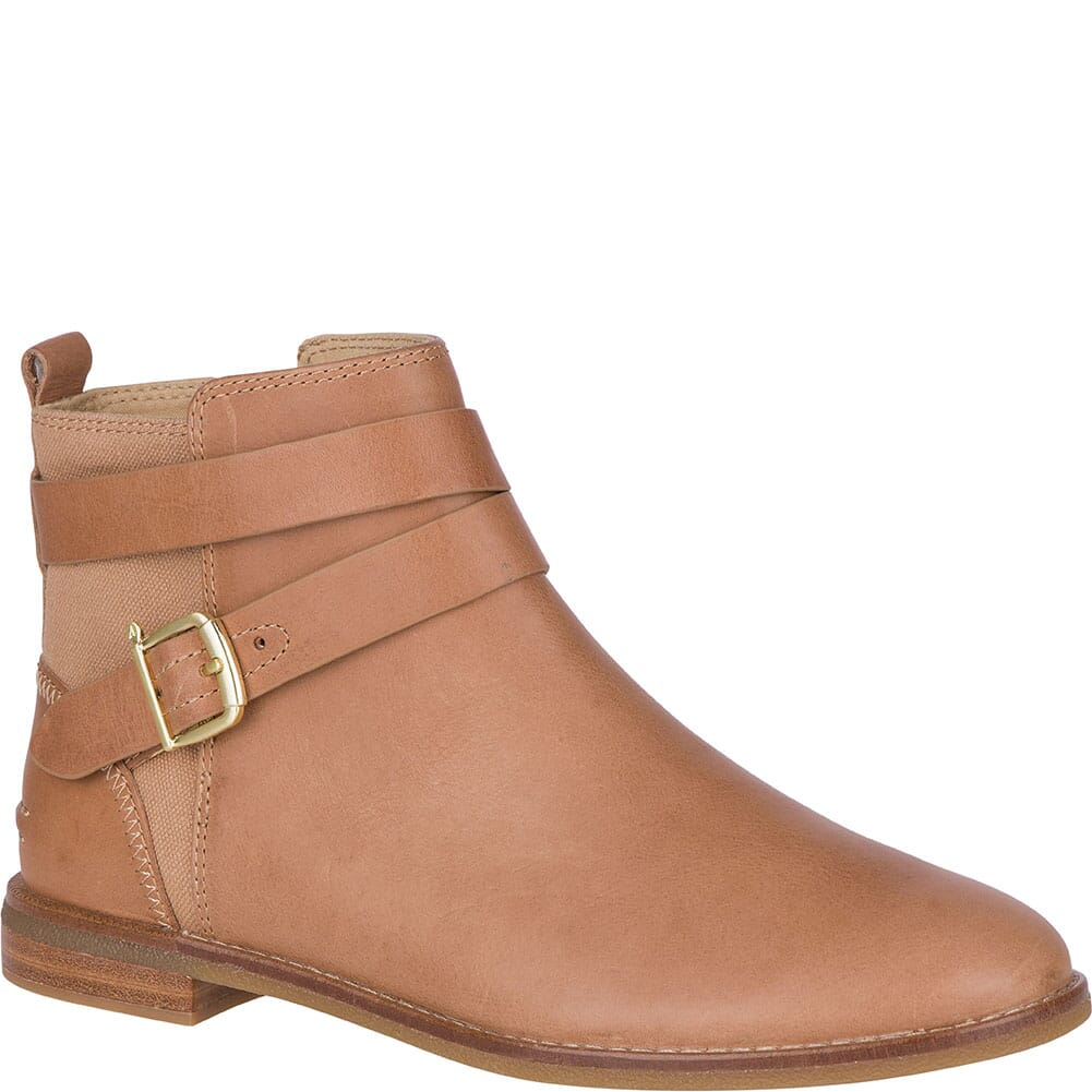 Image for Sperry Women's Seaport Shackle Casual Boots - Tan from bootbay