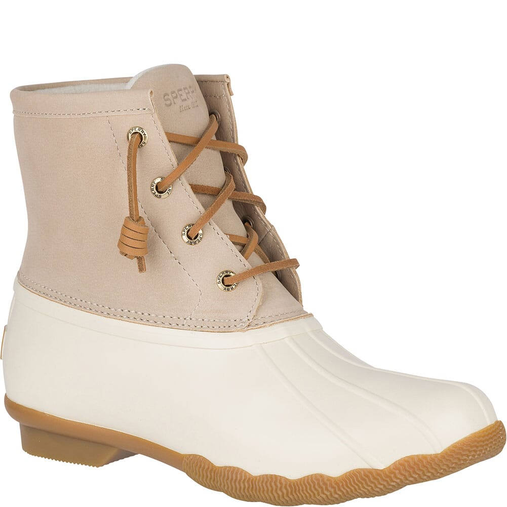 Image for Sperry Women's Saltwater Duck Boots - Ivory from bootbay