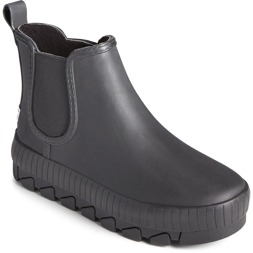 Image for Sperry Women's Torrent Chelsea Rain Boots - Black from elliottsboots