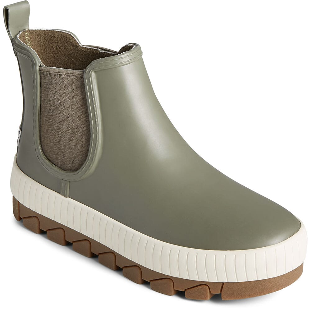 Image for Sperry Women's Torrent Chelsea Rain Boots - Olive from elliottsboots