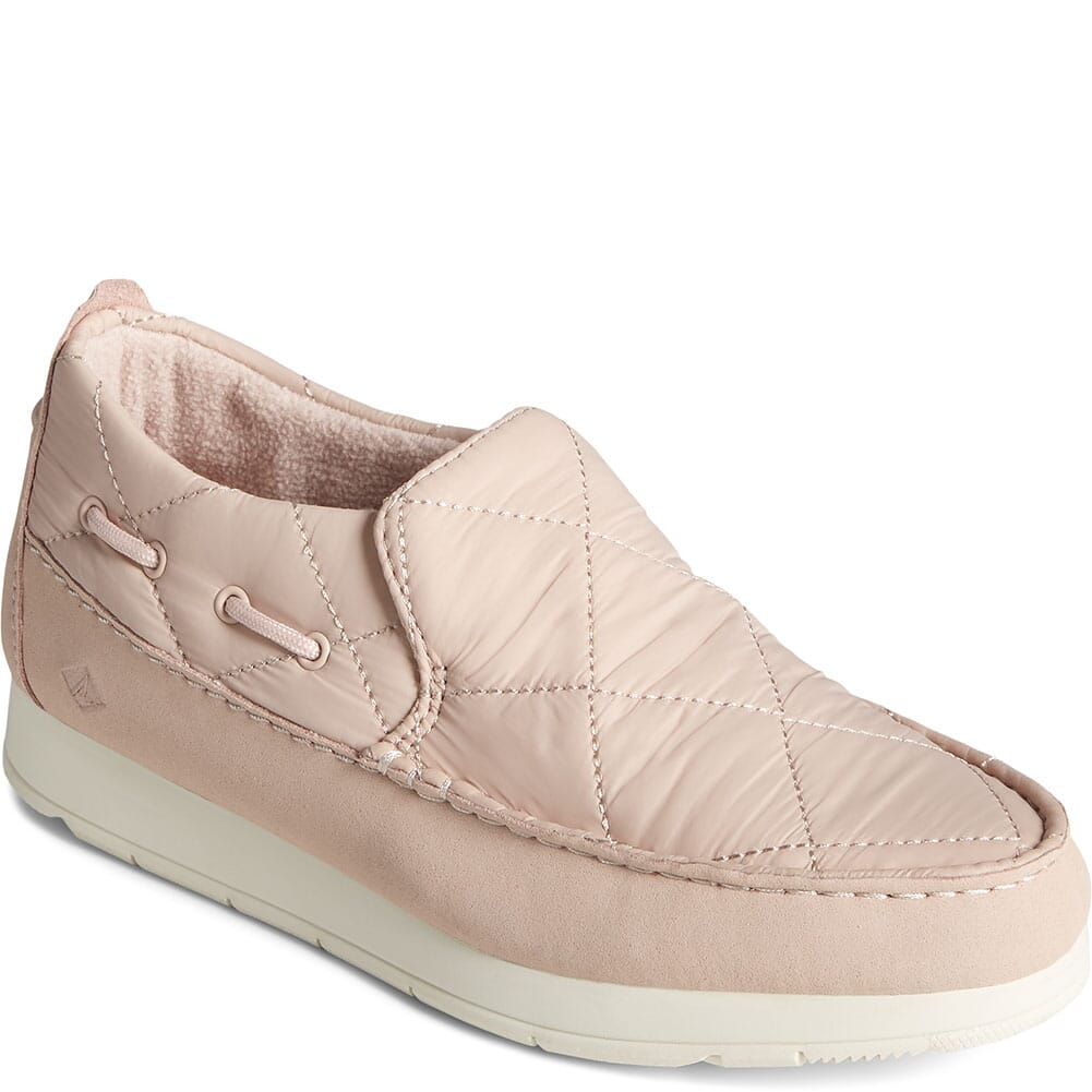Image for Sperry Women's Moc-Sider Nylon Solid Casual Shoes - Pink from bootbay