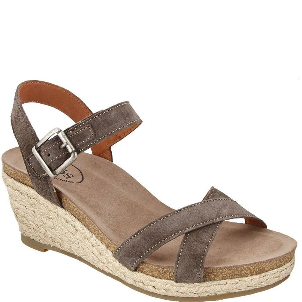 Image for Taos Women's Hey Jute Sandals - Grey from bootbay