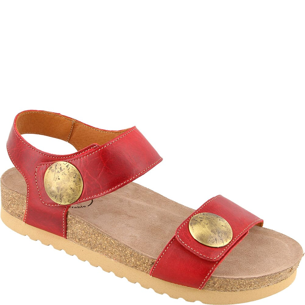 Image for Taos Women's Luckie Sandals - Red from bootbay