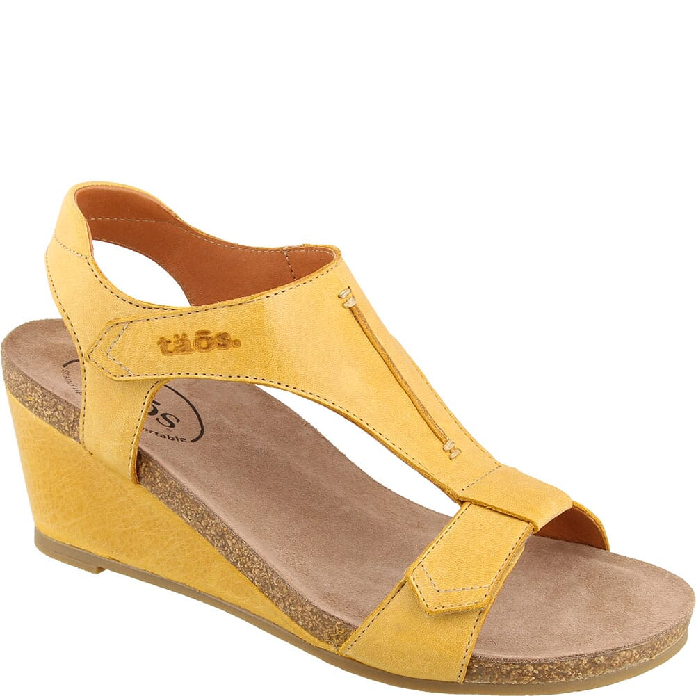 Image for Taos Women's Sheila Sandals - Yellow from elliottsboots