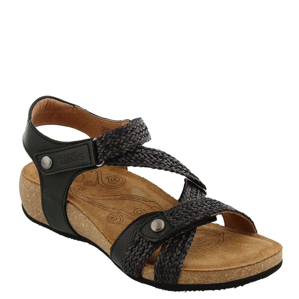 Image for Taos Women's Trulie Sandals - Black from bootbay