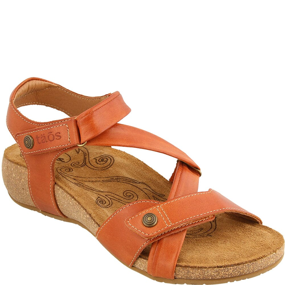 Image for Taos Women's Universe Sandals - Burnt Orange from bootbay
