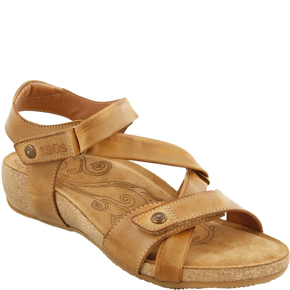 Image for Taos Women's Universe Sandals - Camel from elliottsboots