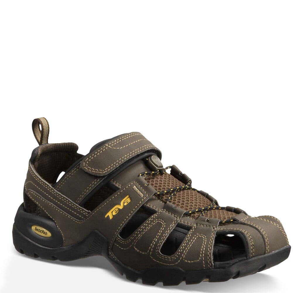 Image for Teva Men's Forebay Sandals - Turkish Coffee from bootbay