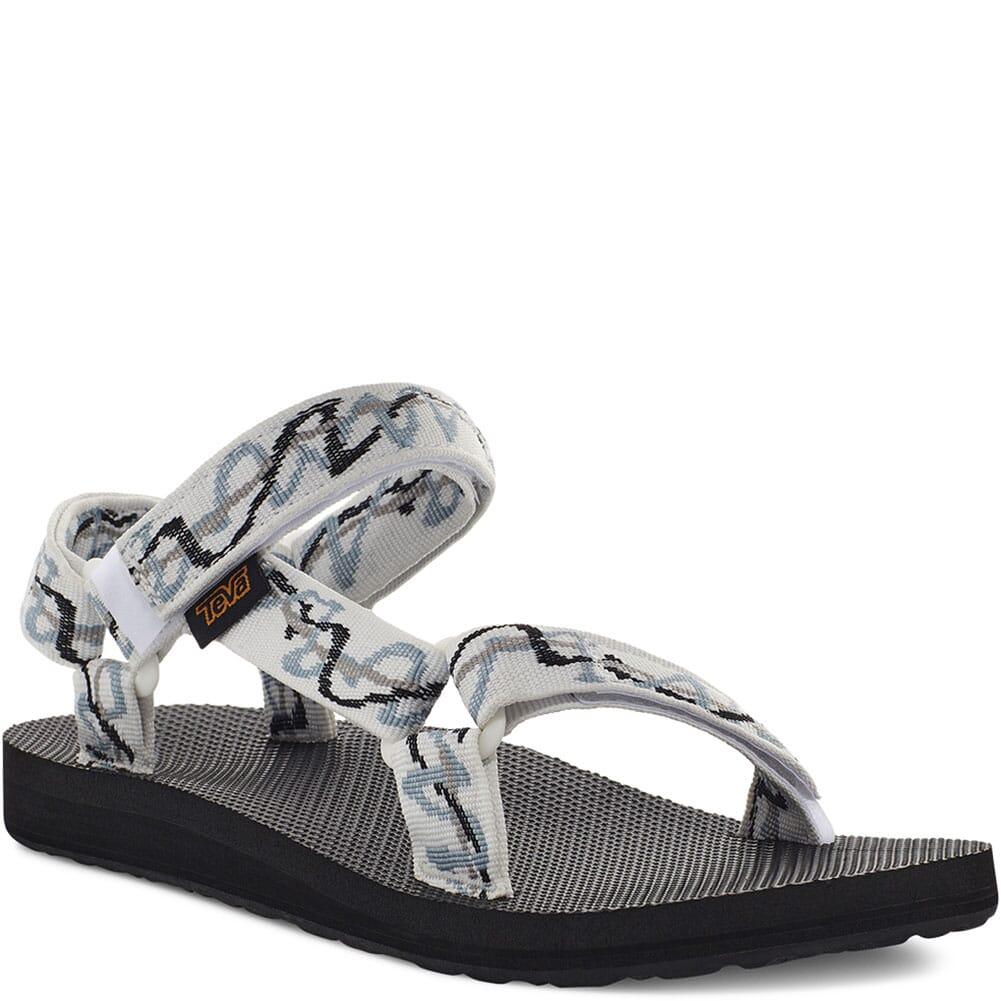 Image for Teva Women's Original Universal Sandals - Ziggy White from elliottsboots
