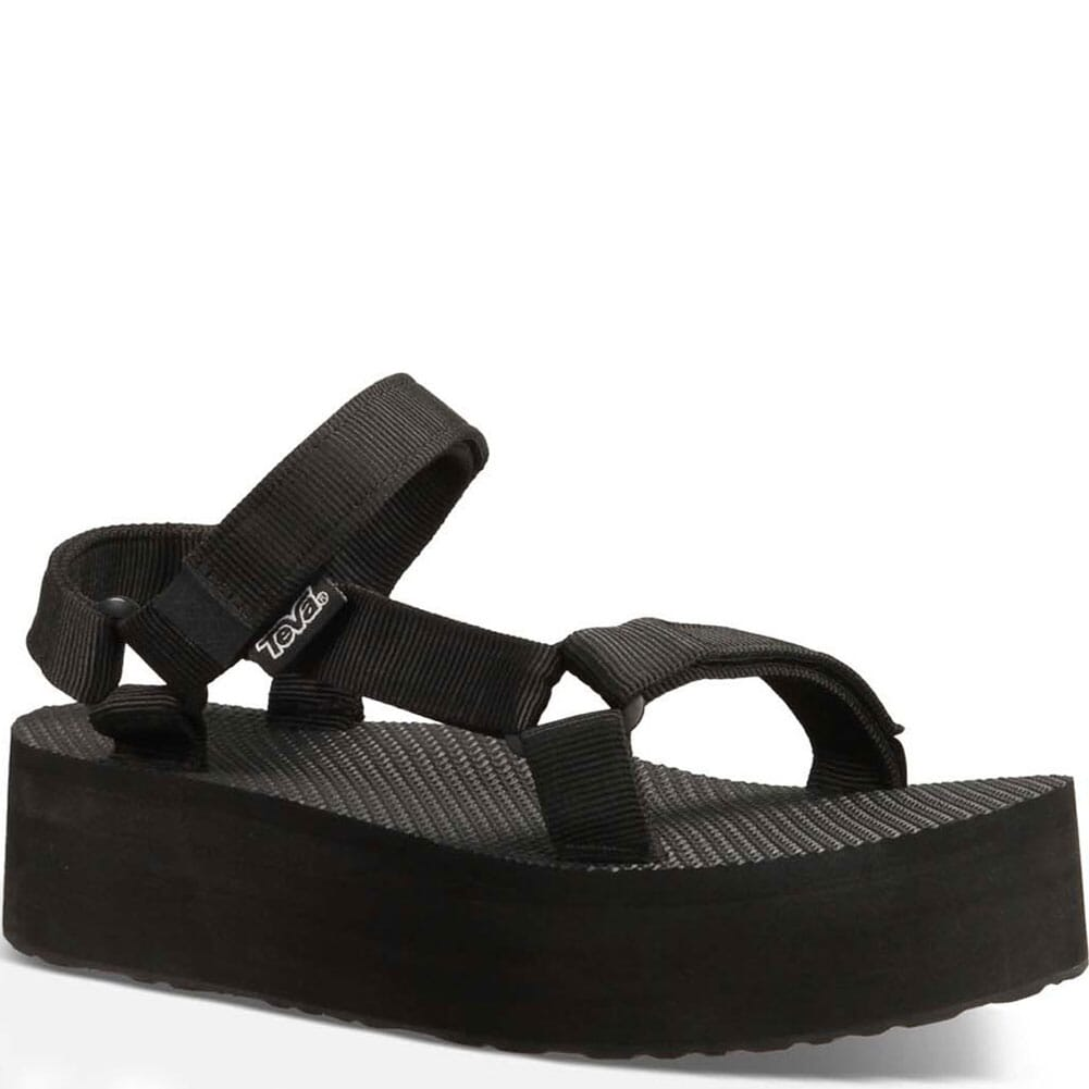 Image for Teva Women's Flatform Universal Sandals - Black from bootbay