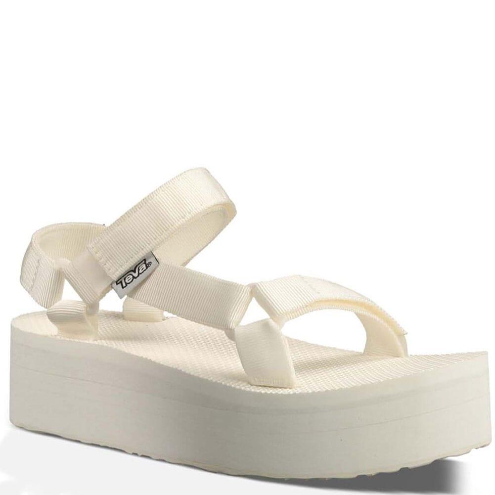 Image for Teva Women's Flatform Universal Sandals - Bright White from elliottsboots