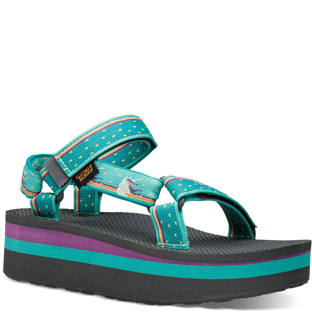 Image for Teva Women's Flatform Universal Sandals - Unicorn Waterfall from bootbay