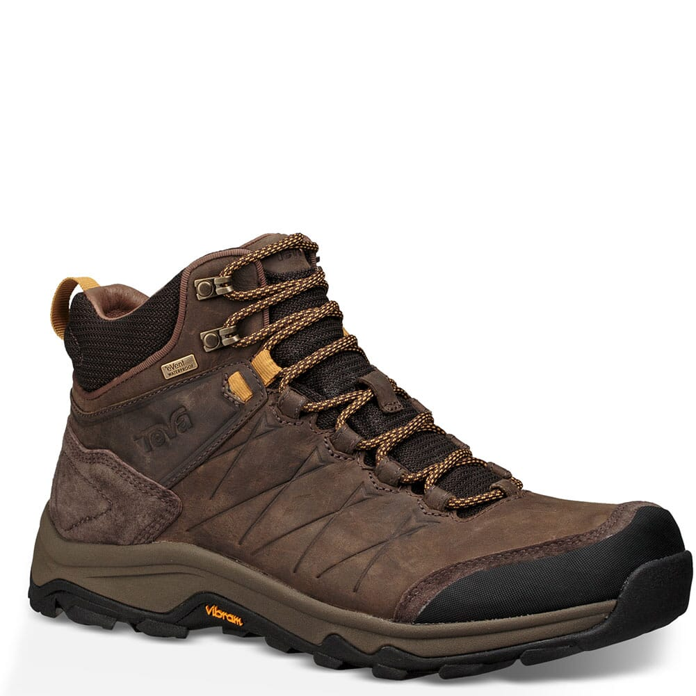 Image for Teva Men's Arrowood Riva Mid WP Hiking Boots - Turkish Coffee from bootbay