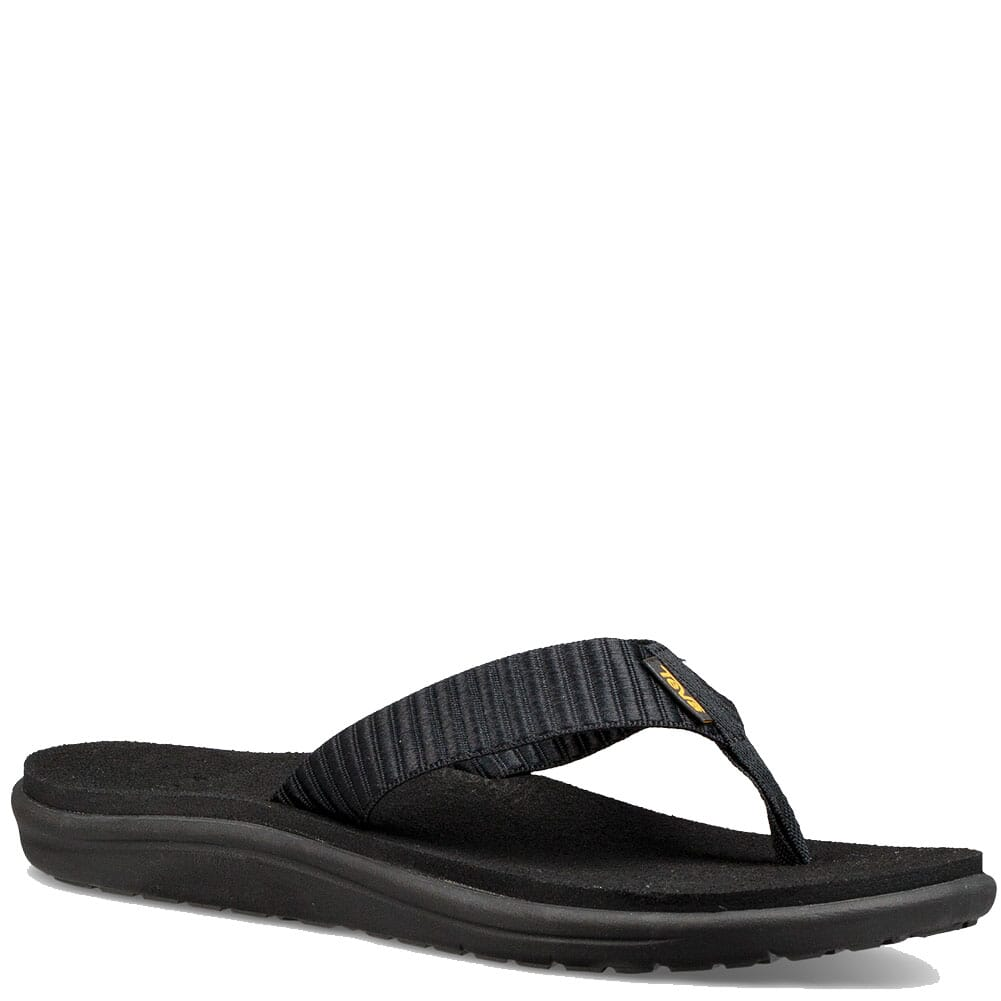 Image for Teva Women's Voya Flip Flop - Bar Street Black from bootbay