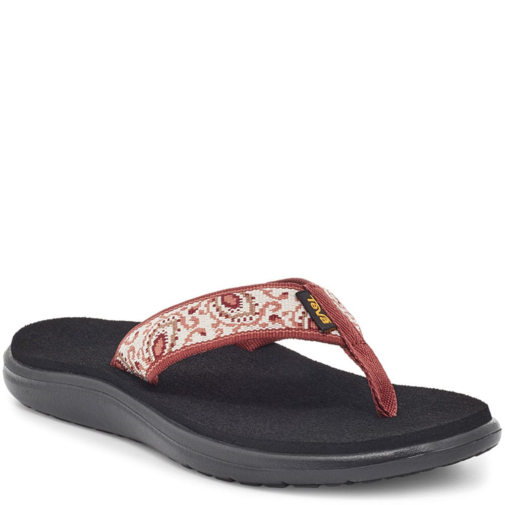 Image for Teva Women's Voya Flip Flop - Doria Burnt Henna from elliottsboots