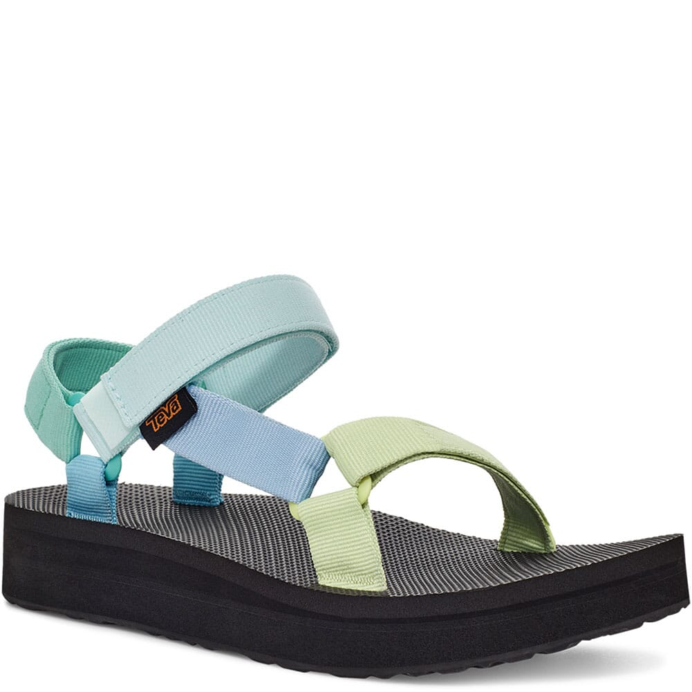 Image for Teva Women's Midform Universal Sandals - Light Green Multi from bootbay