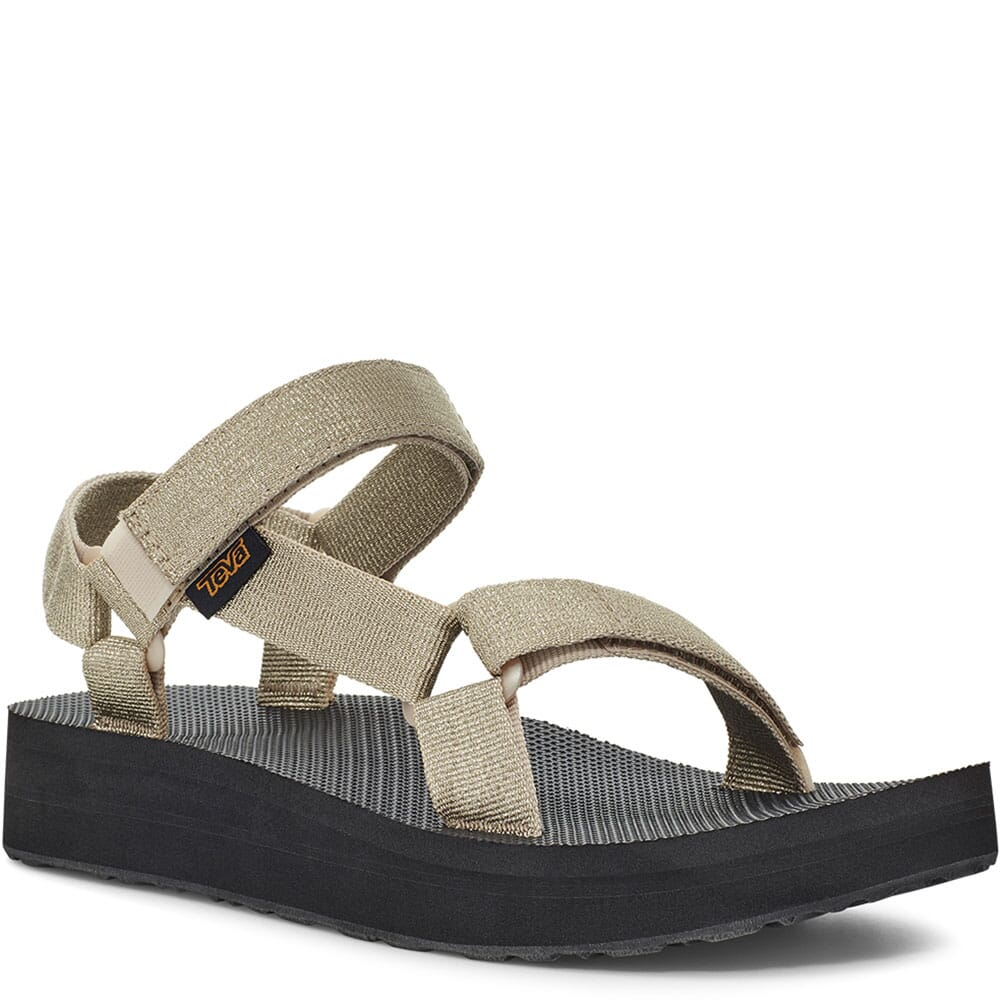 Image for Teva Women's Midform Universal Sandals - Metallic Champagne from bootbay