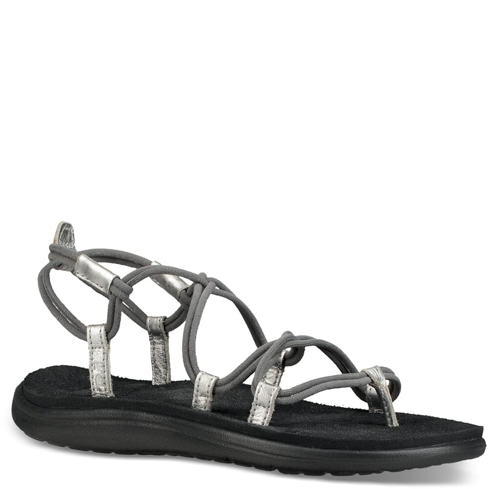 Image for Teva Women's Voya Infinity Sandals - Grey/Silver from elliottsboots