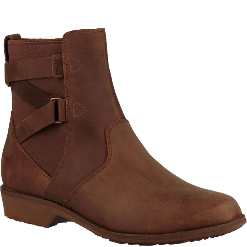 Image for Teva Women's Ellery Ankle WP Casual Boots - Dark Olive from bootbay