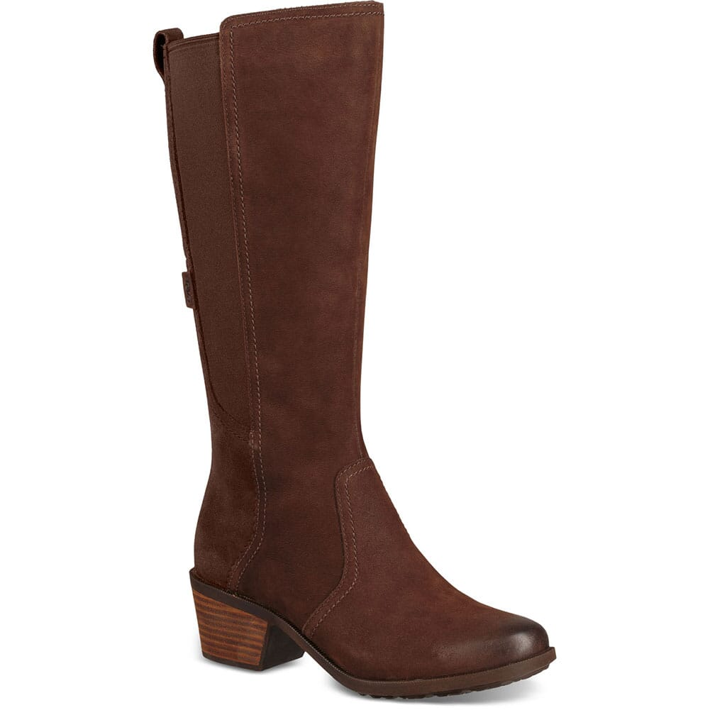 Image for Teva Women's Anaya Tall WP Casual Boots - Chocolate Brown from bootbay