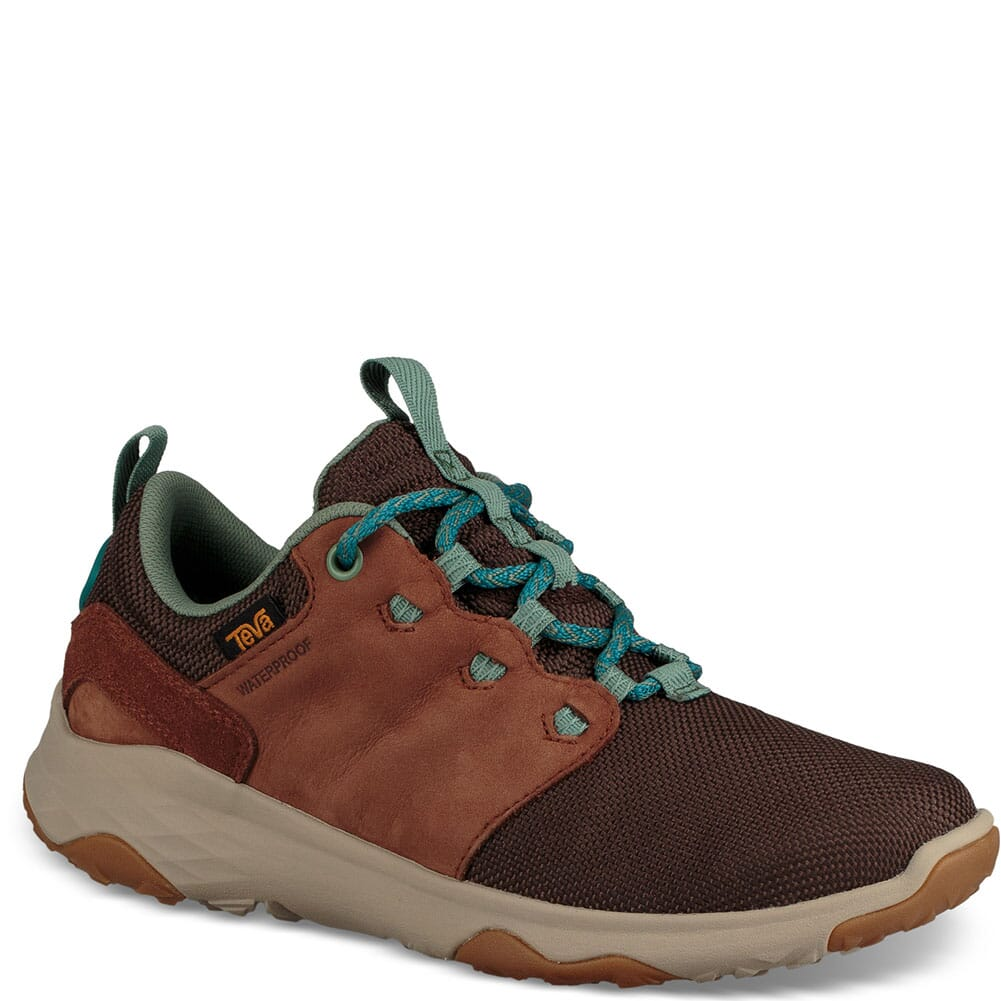 Image for Teva Women's Arrowood Venture Hiking Shoes - Brown from bootbay