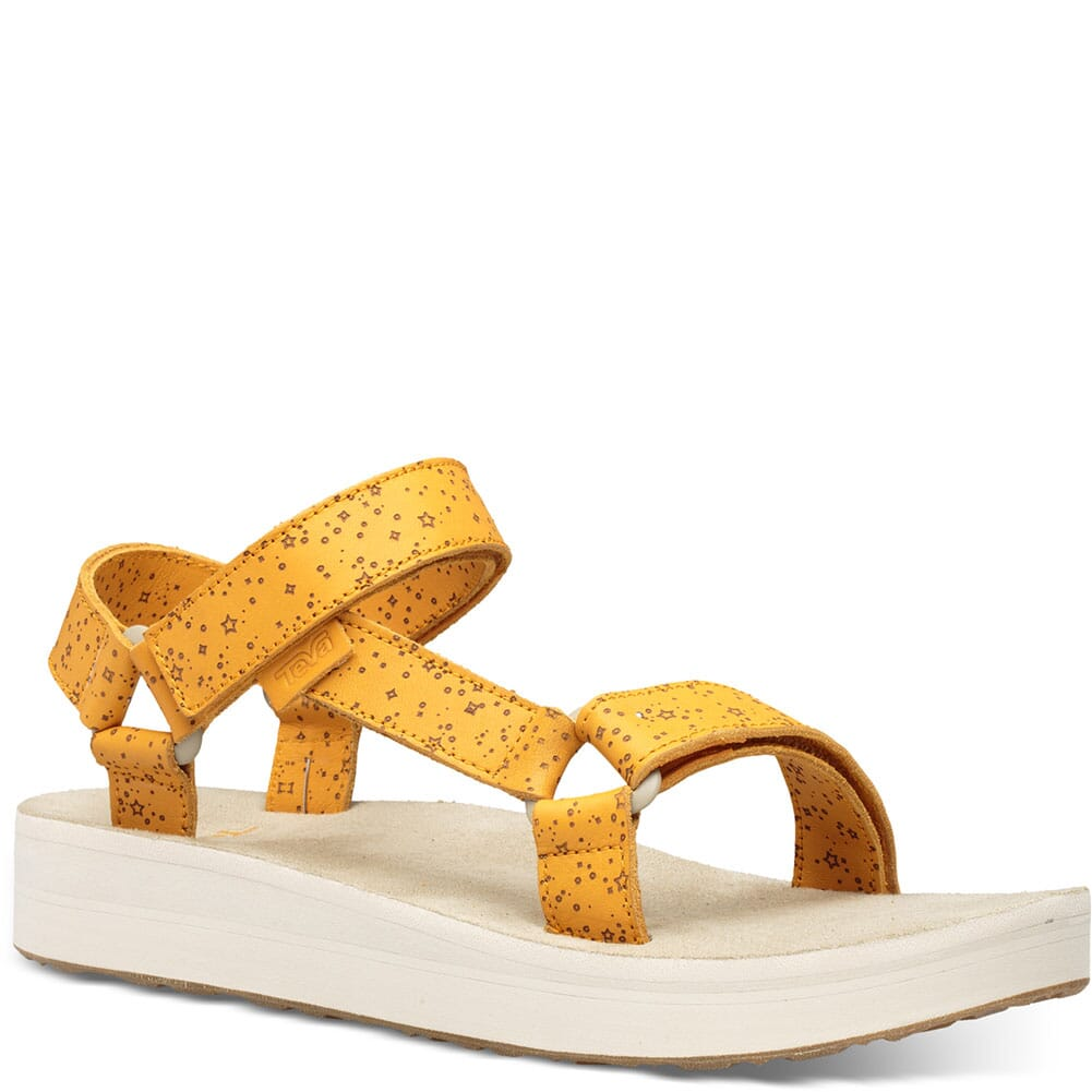 Image for Teva Women's Midform Universal Star Sandals - Sunflower from bootbay