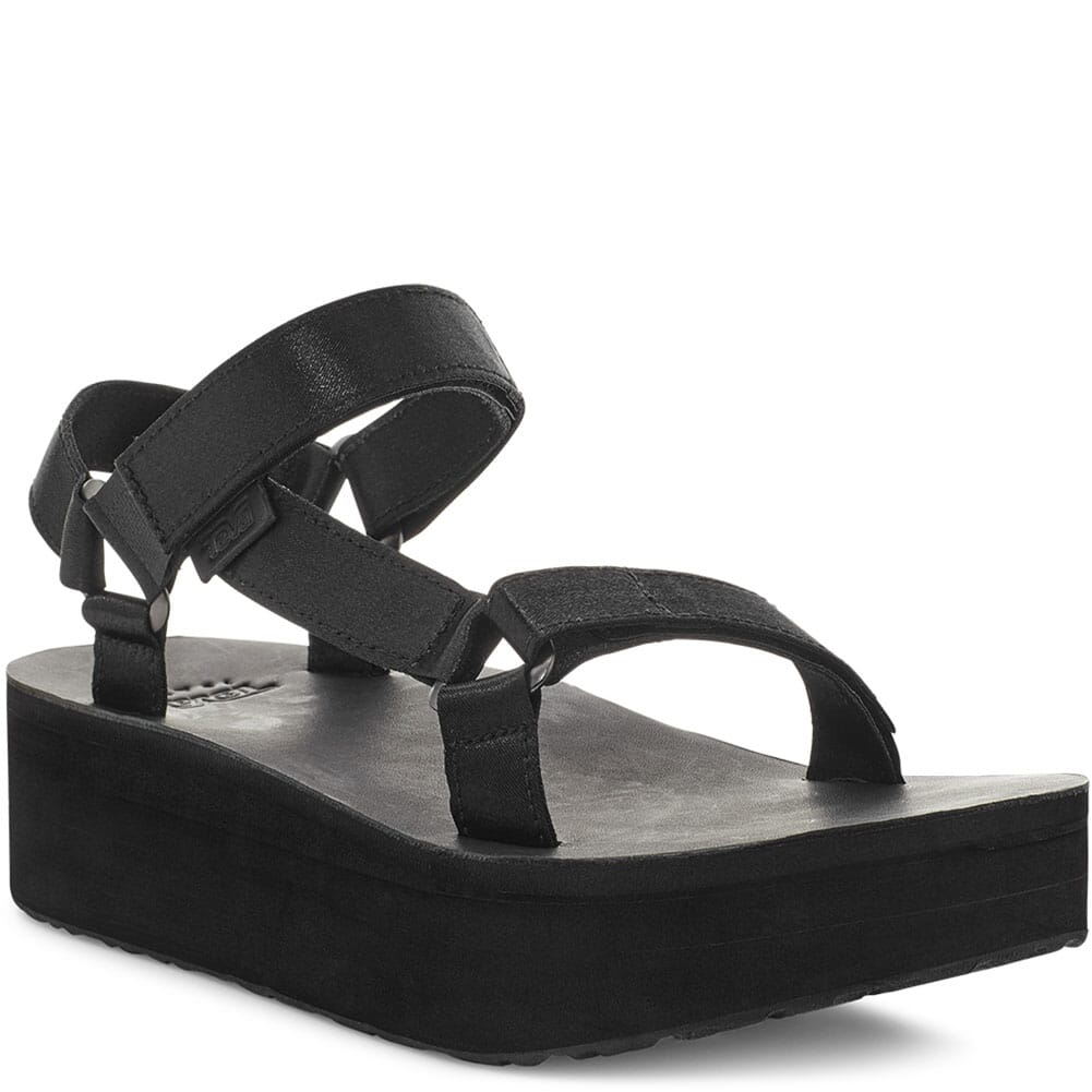 Image for Teva Women's Flatform Universal Water-Ready Sandals - Black from bootbay