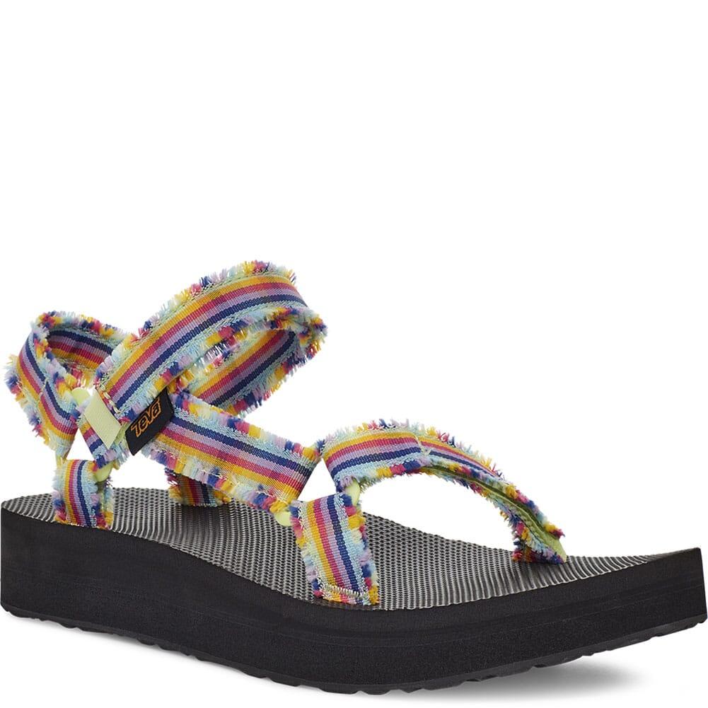 Image for Teva Women's Midform Fray Sandals - Frazier Black Multi from elliottsboots