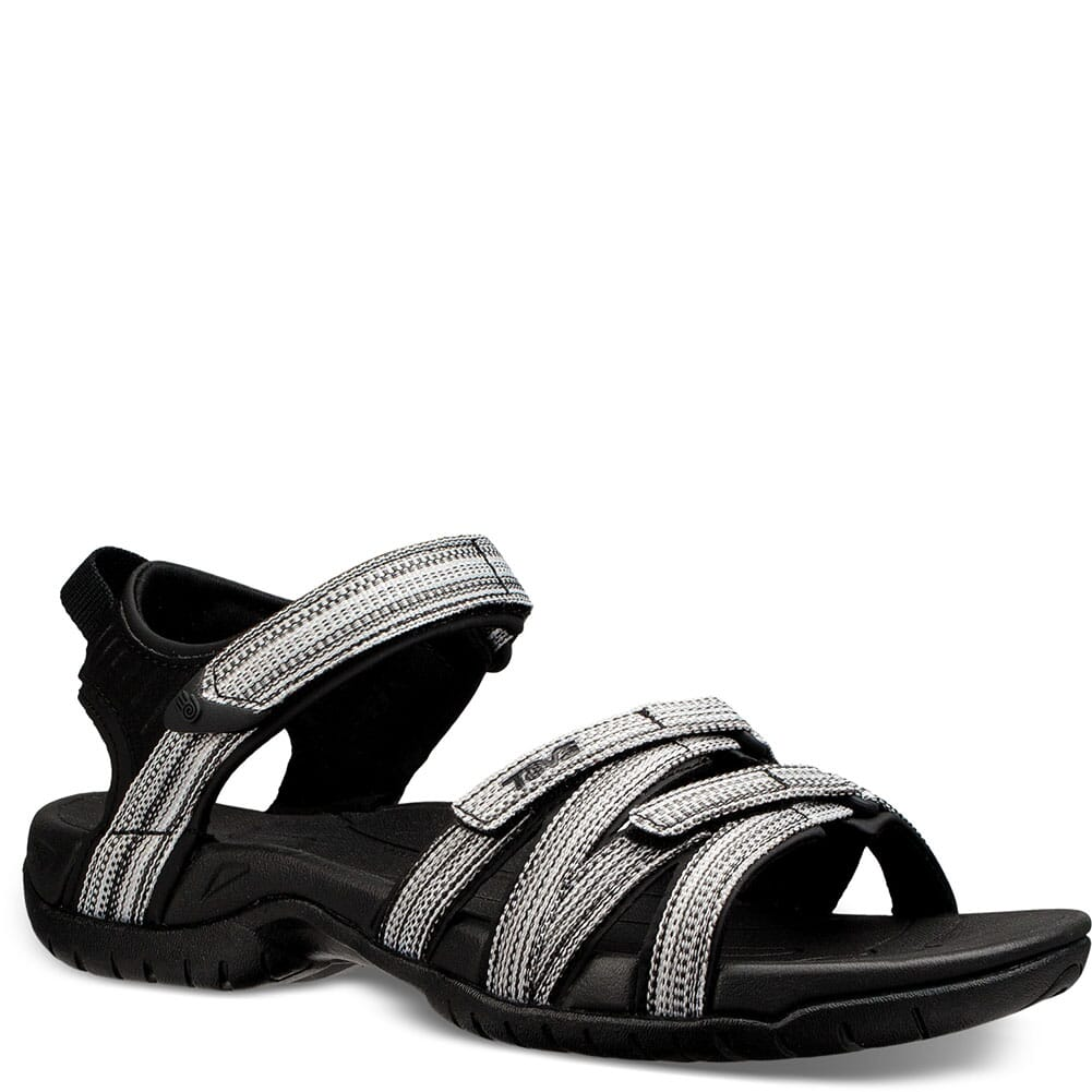 Image for Teva Women's Tirra Sandals - Black/White from elliottsboots
