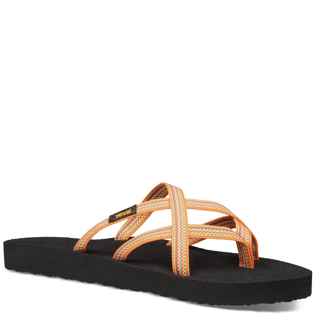 Image for Teva Women's Olowahu Flip Flops - Antigous Sunflower from bootbay
