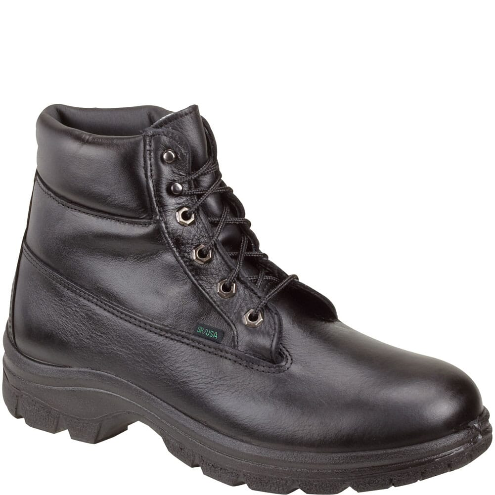 Image for Thorogood Women's Soft Streets Series Work Boots - Black from bootbay