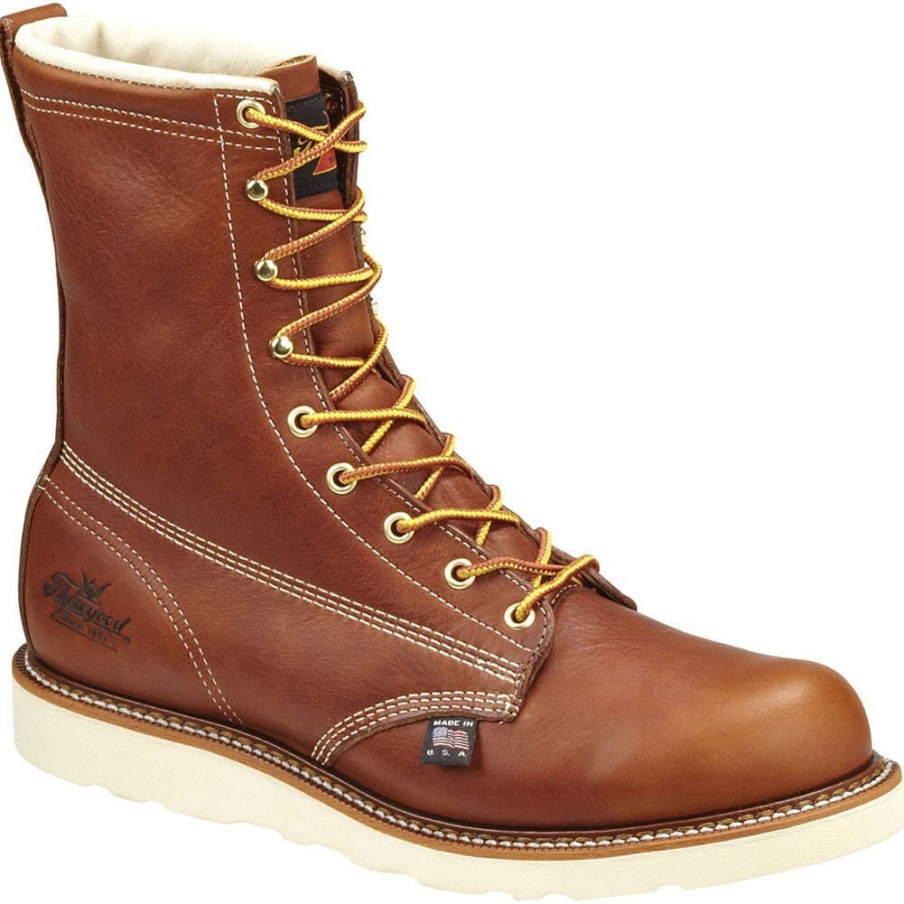 Image for Thorogood Men's Waterproof Safety Boots - Tobacco from bootbay