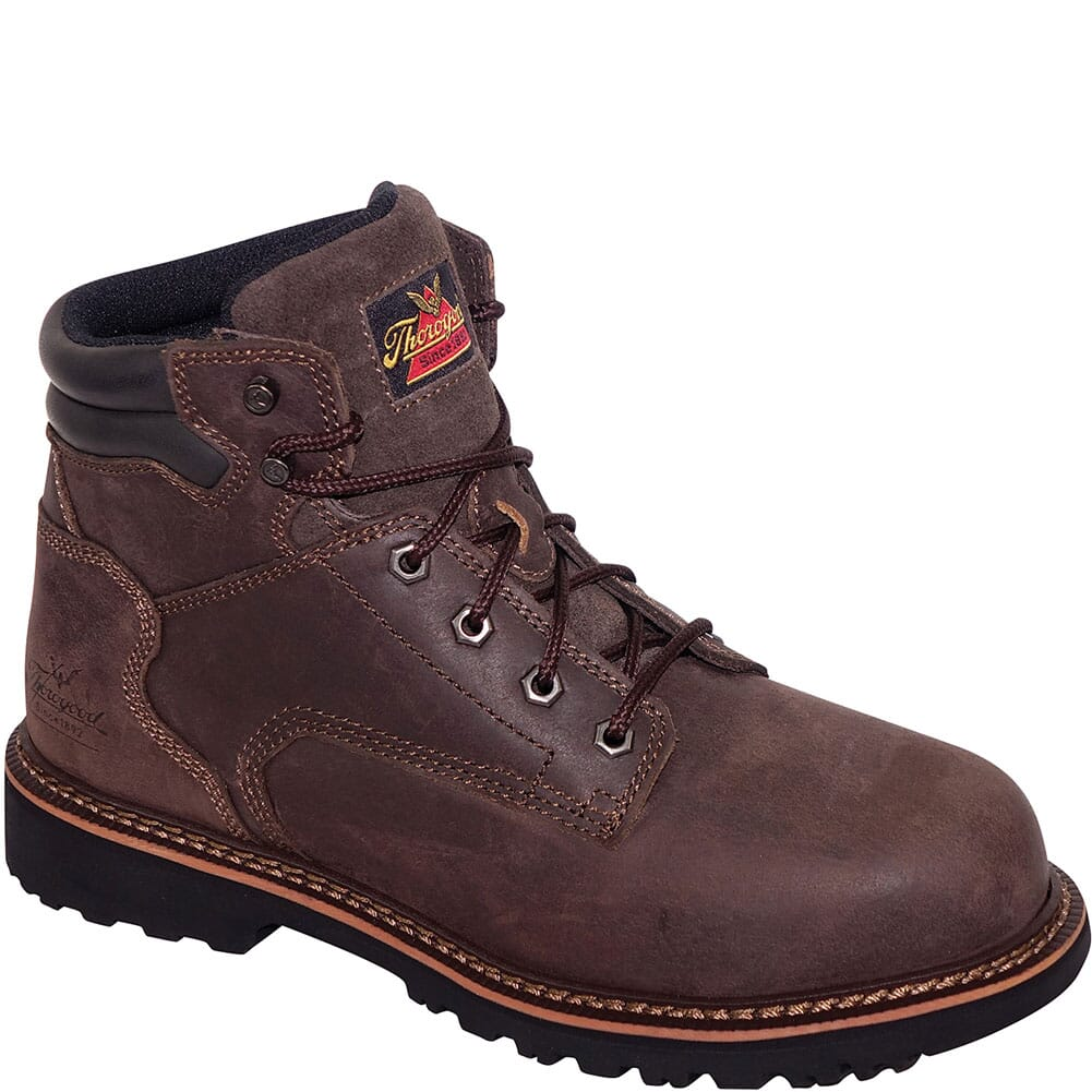 Image for Thorogood Men's V-Series Safety Boots - Brown from bootbay
