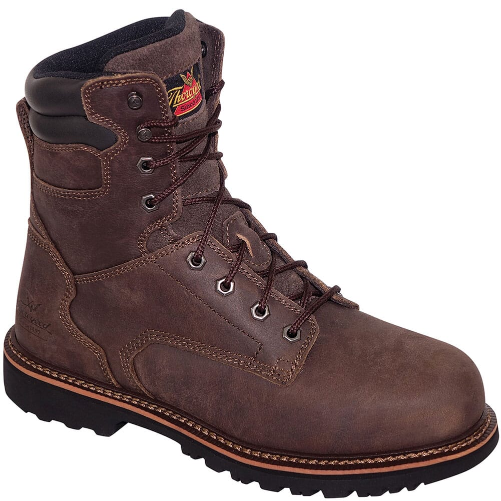 Image for Thorogood Men's V Series 8in Safety Boots - Brown from bootbay