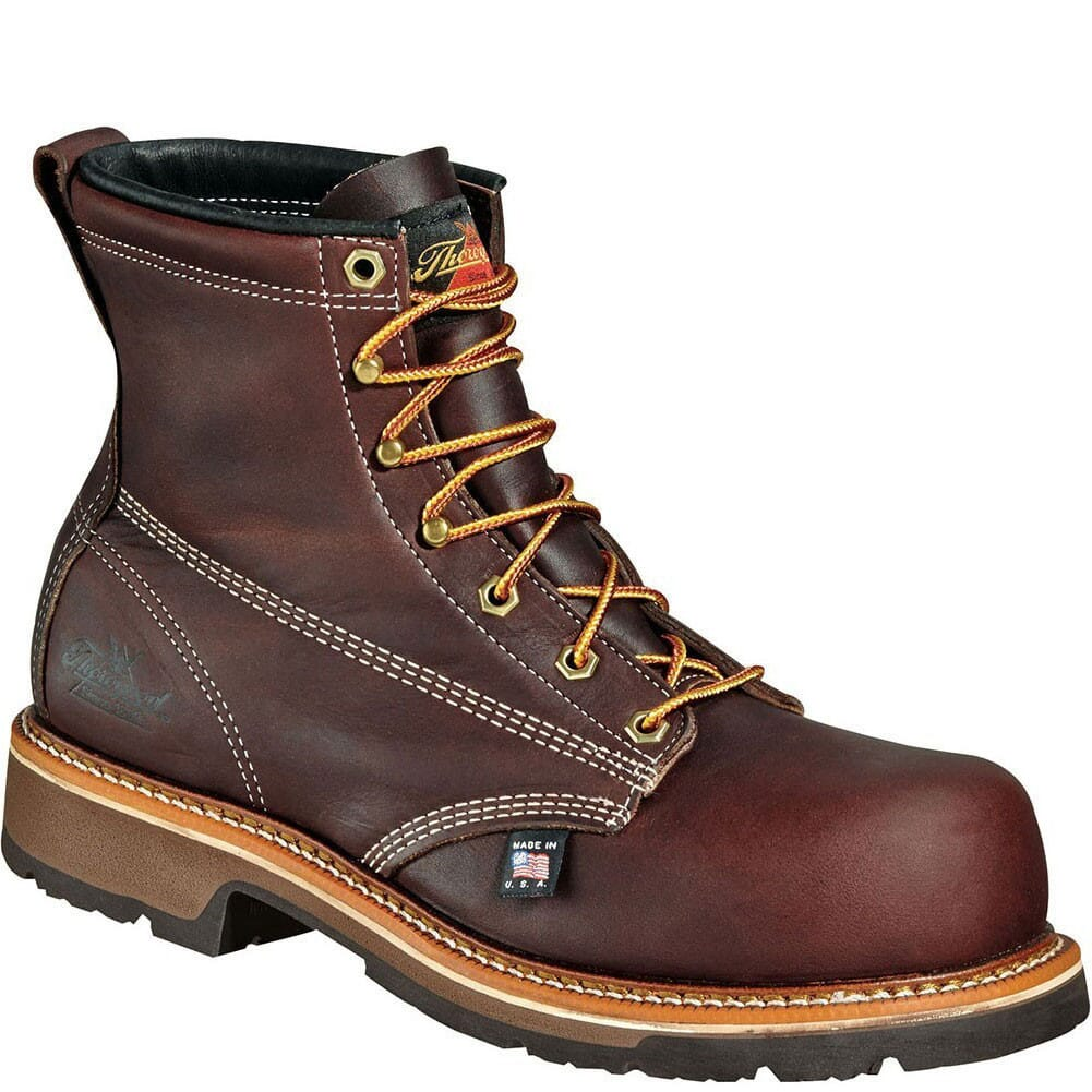 Image for Thorogood Men's Emperor Toe Safety Boots - Brown from bootbay