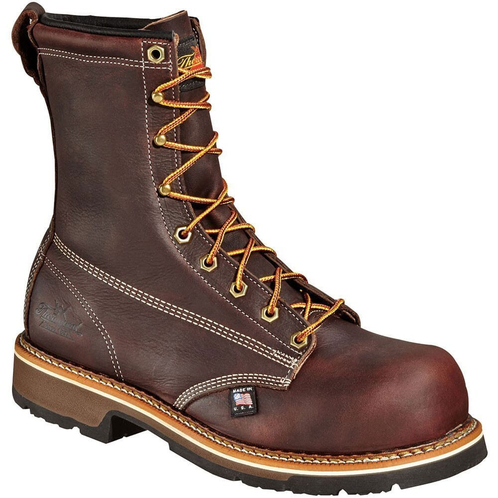 Image for Thorogood Men's 8IN Emperor Toe Safety Boots - Brown from bootbay