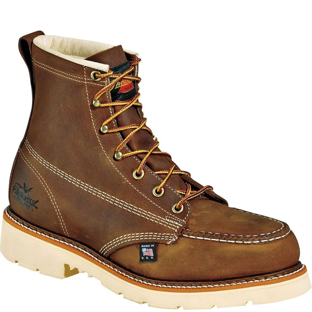 Image for Thorogood Men's Job PRO Safety Boots - Brown from bootbay