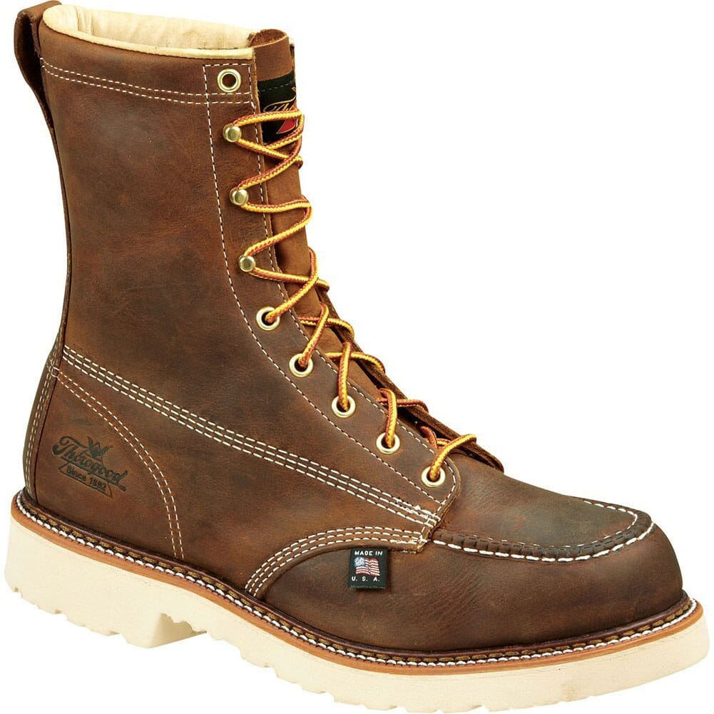 Image for Thorogood Men's SR Safety Boots - Brown from bootbay