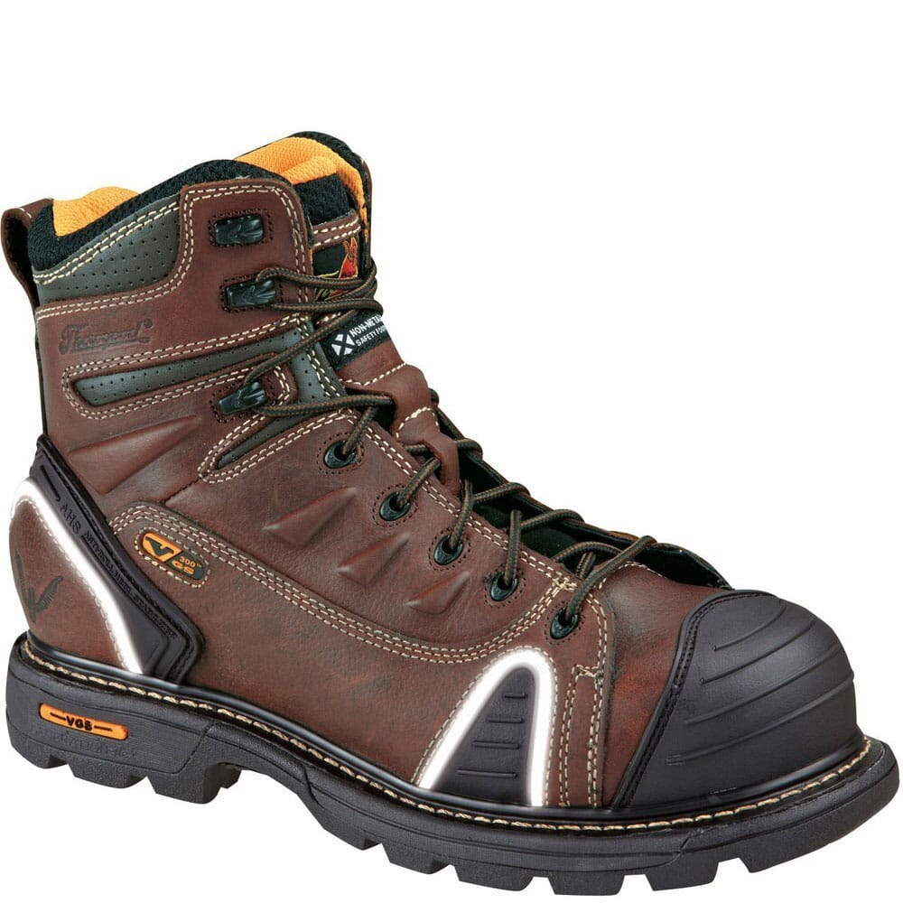 Image for Thorogood Men's Lace-To-Toe Safety Boots - Brown from bootbay