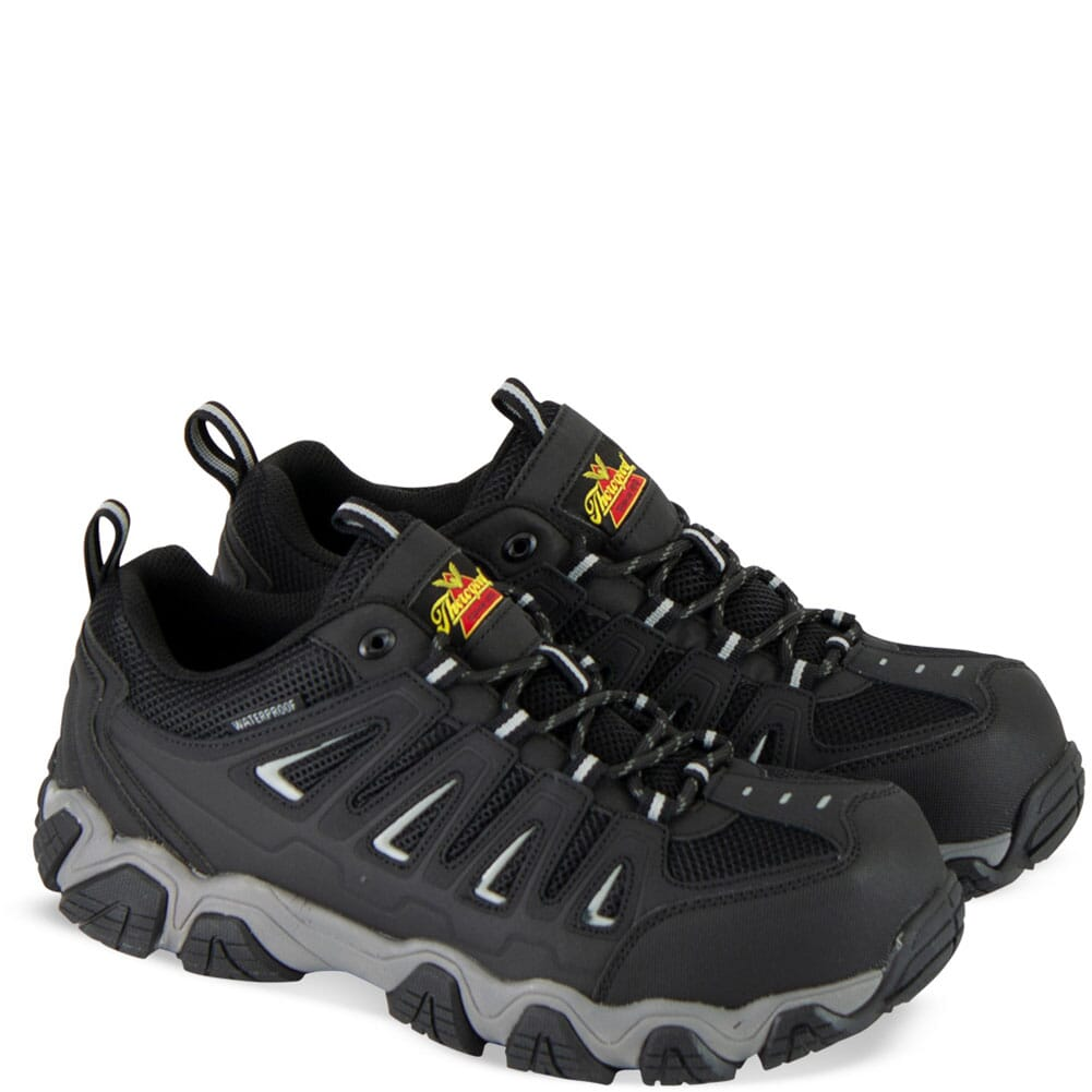 Image for Thorogood Men's Crosstrex Series WP Safety Shoes - Black/Grey from bootbay