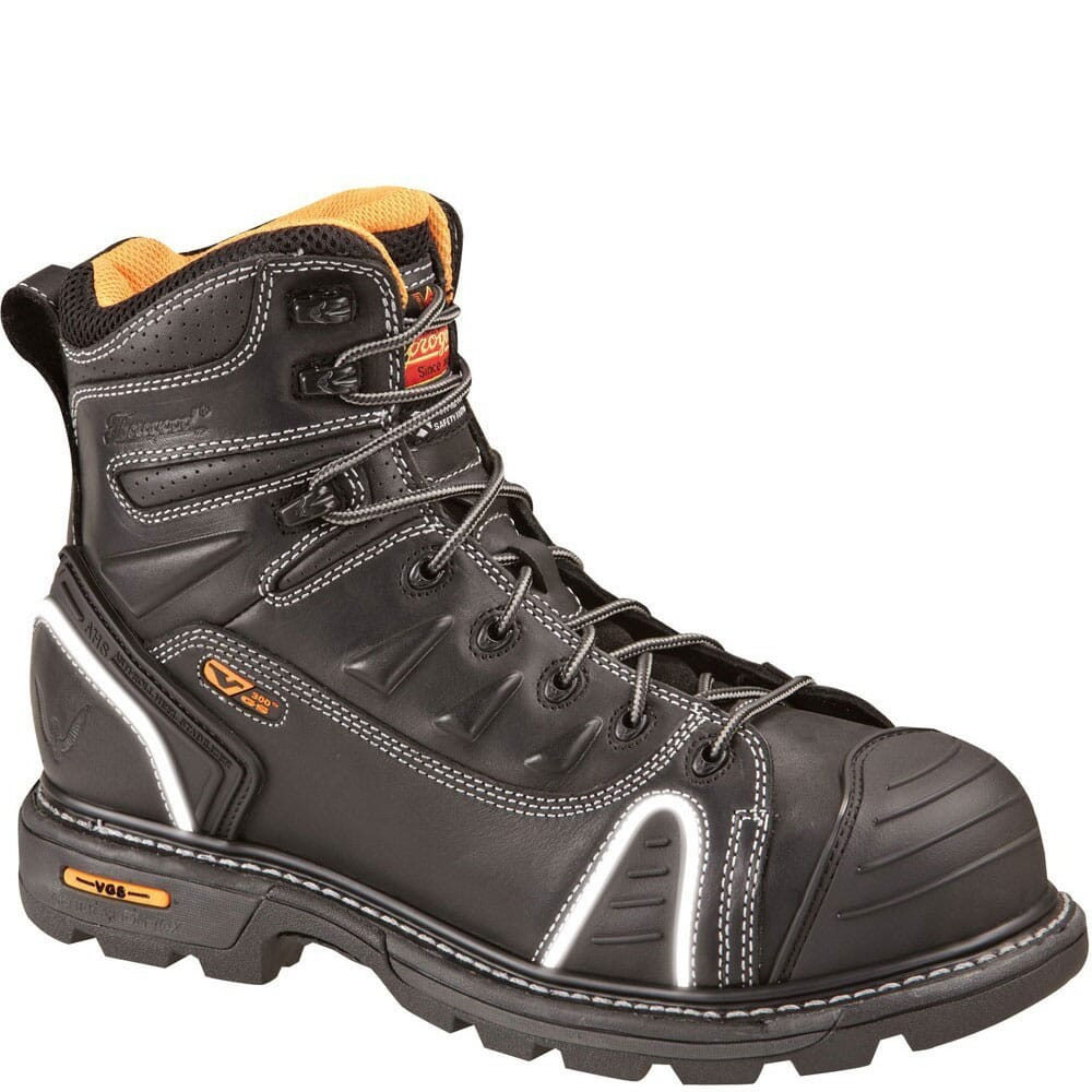 Image for Thorogood Men's Lace Up EH Safety Boots - Brown from bootbay