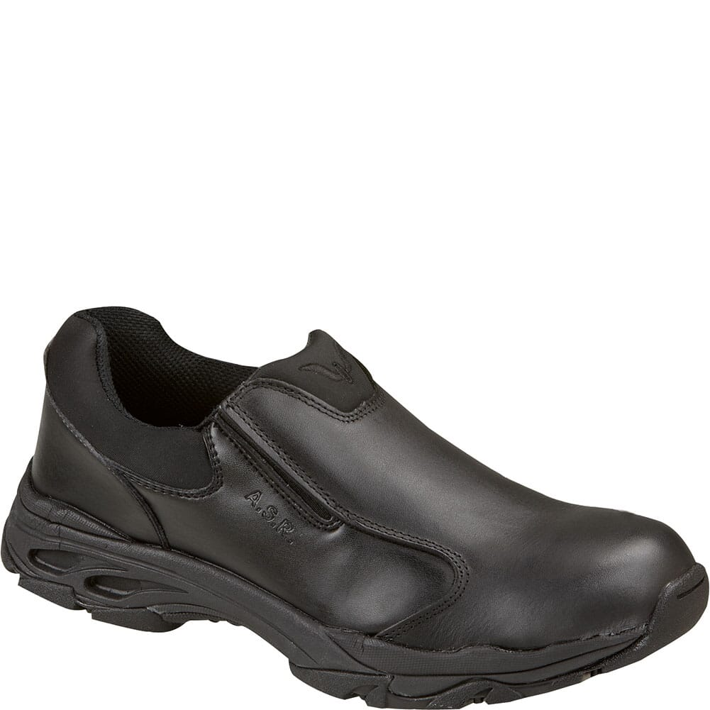 Image for Thorogood Unisex ASR Series Safety Slip Ons - Black from bootbay