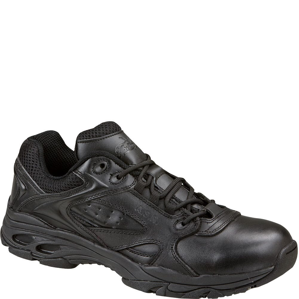 Image for Thorogood Unisex ASR Series Comp Toe Uniform Shoes - Black from bootbay
