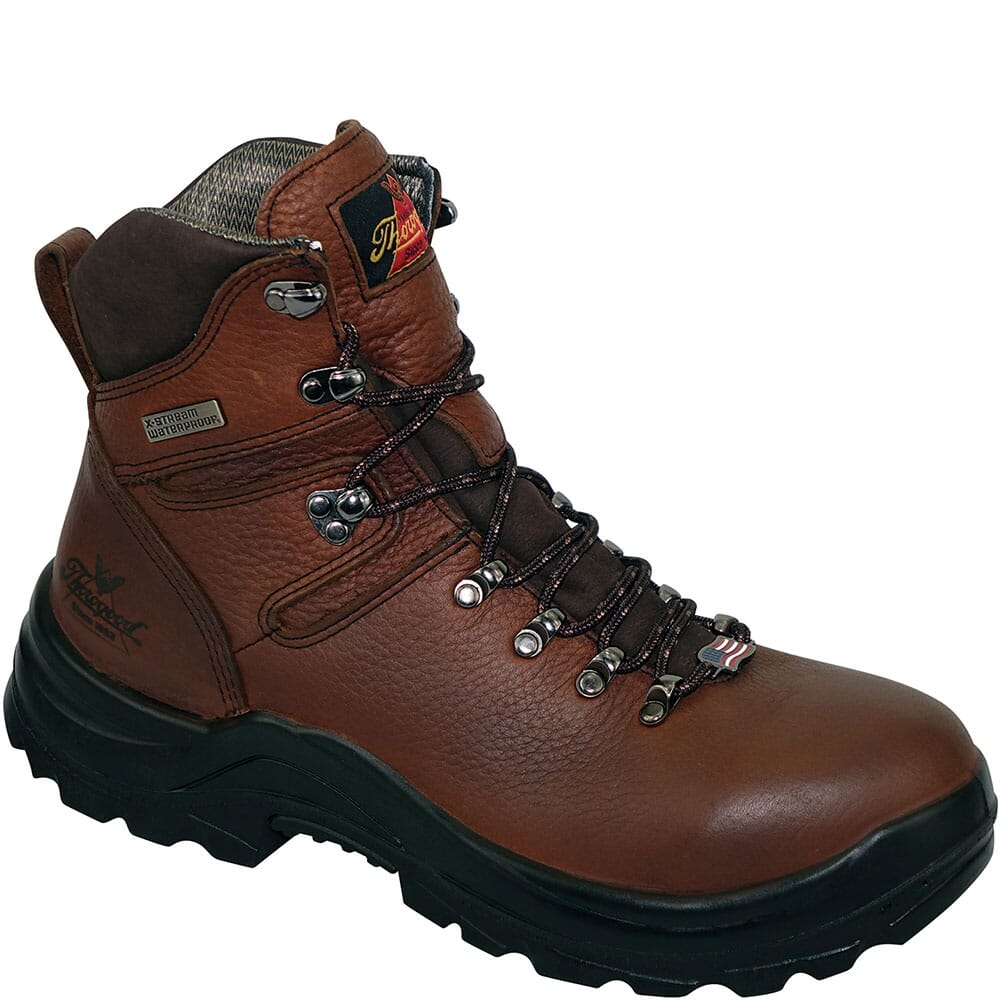Image for Thorogood Men's Omni Work Boots - Brown from bootbay