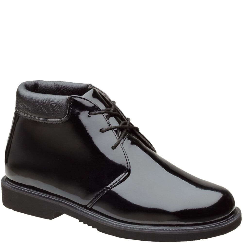 Image for Thorogood Men's Poromeric Uniform Chukka - Black from bootbay
