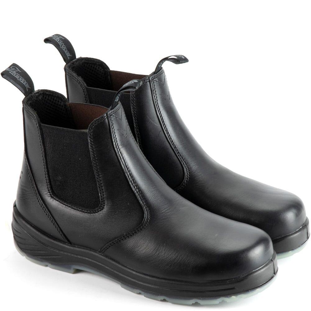 Image for Thorogood Men's Quick Release Station PR Uniform Boots - Black from elliottsboots