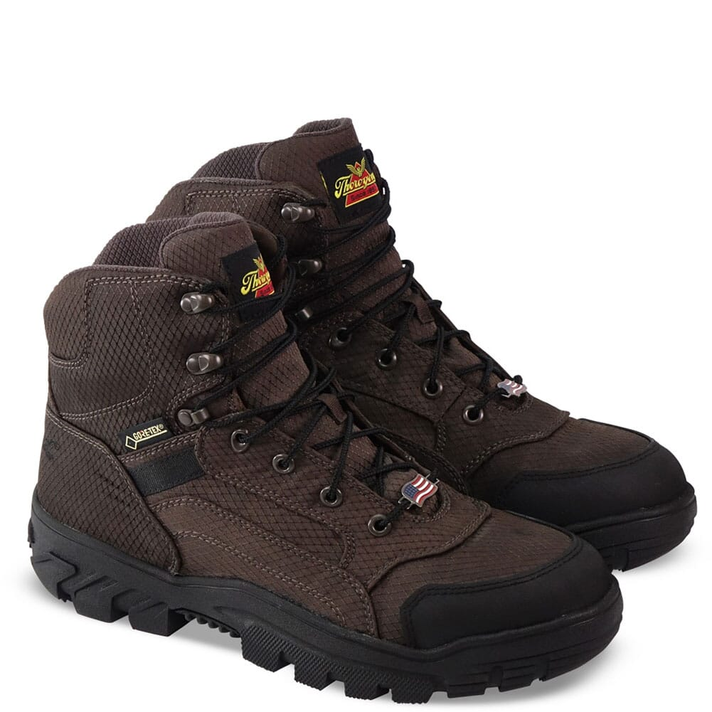 Image for Thorogood Men's Apex Predator GTX Outdoor Boots - Brown from bootbay