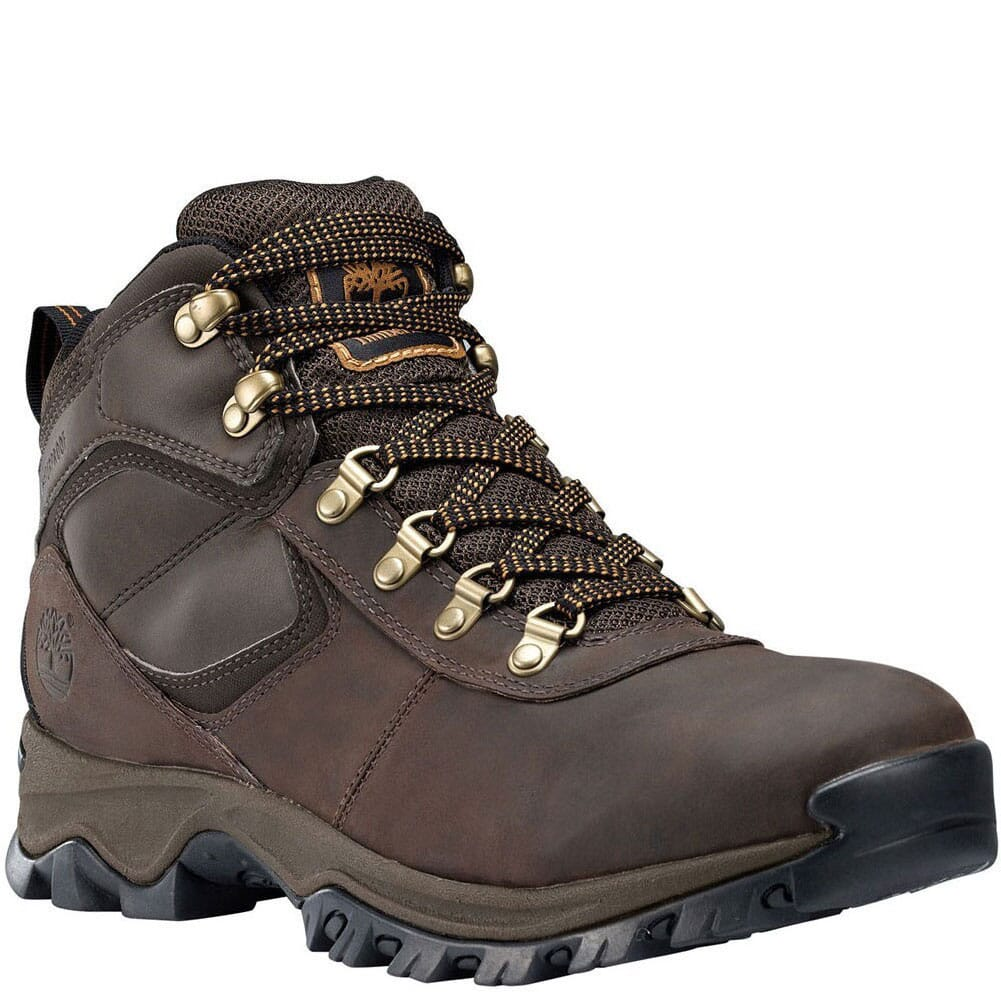 Image for Timberland Men's Mt. Maddsen WP Hiking Boots - Brown from bootbay